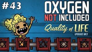 Wer möchte eine Dampfturbine bauen? - CCC #43 - Oxygen Not Included QoL Mk3 - 4k