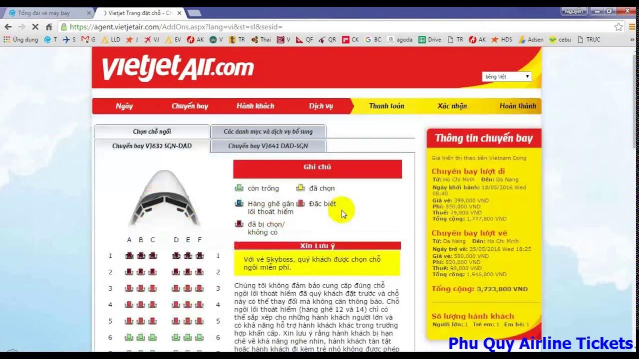 [HD Đại lý] Hướng dẫn đặt vé máy bay hãng Vietjet Air dành cho Đại lý