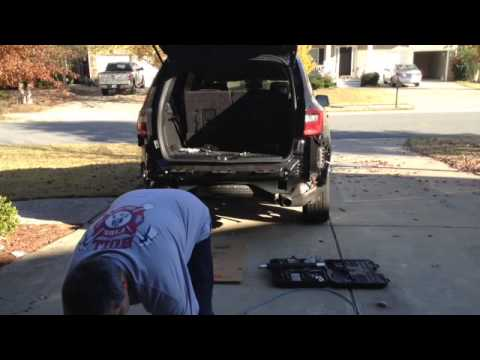 hqdefault 2014 dodge durango trailer hitch install youtube Dodge Ram Trailer Wiring Diagram at creativeand.co