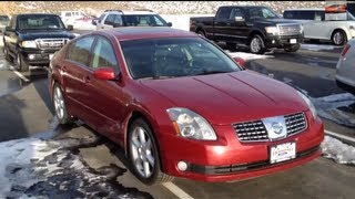 2006 Nissan Maxima 3.5 SE full tour (start up, exhaust, interior, exterior)