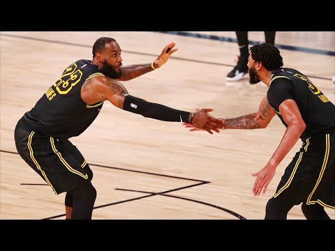 Lakers Bounce Back, LeBron 2 Lobs Game 2 vs Rockets! 2020 ...