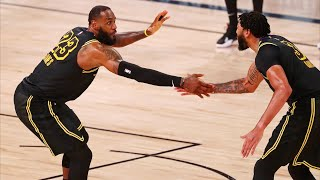 Lakers Bounce Back, LeBron 2 Lobs Game 2 vs Rockets! 2020 NBA Playoffs