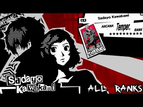 Persona 5 Temperance Confidant: Sadayo Kawakami All Ranks / Romantic Route