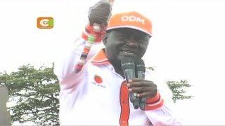 Raila na Kalonzo wapeleka kampeni Samburu