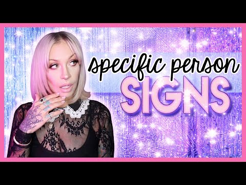 Specific Person: Signs From The Universe That Love Is Coming