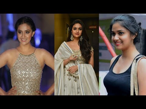 Keerthi Suresh Hot HD Images | Bikini Pics| Leaked Photos| Saree| Gym Videos | Navel PhotoShoot