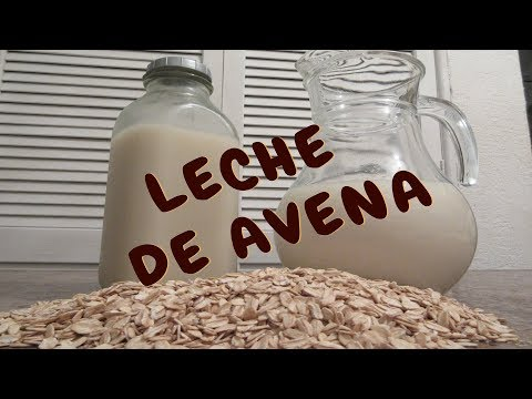 LECHE DE AVENA DELICIOSA! - NATURAL OAT MILK - Lorena Lara