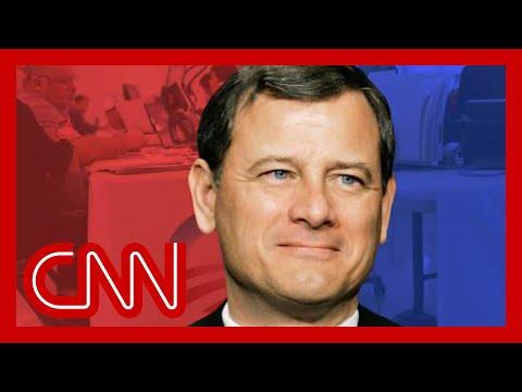 John Roberts is the new Supreme Court swing vote, Toobin says