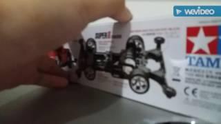 Unboxing tamiya mini 4wd kopen xmz