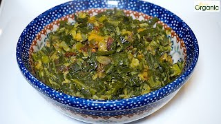 Collard Greens with Lentils