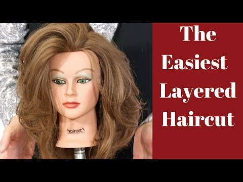 Easy Layered Haircut Tutorial with Tom Harris - TheSalonGuy