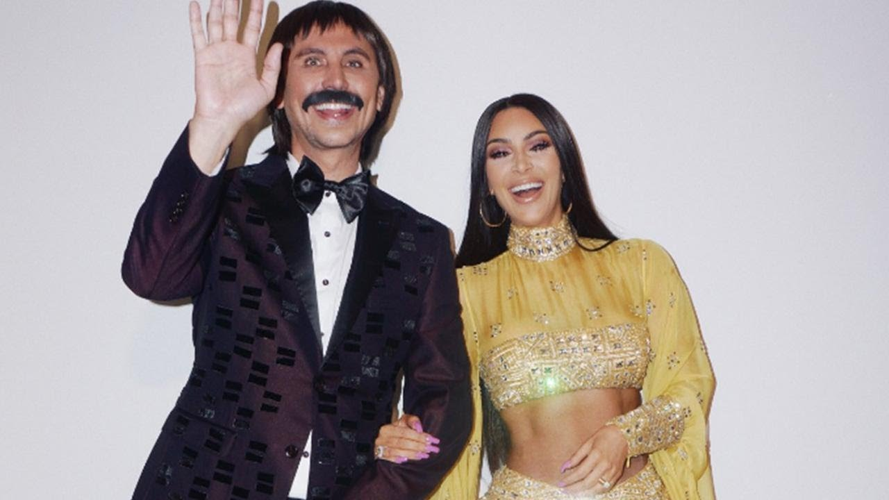 Kim K looks just like Cher in her stunning (Cher-approved!) Halloween costume