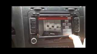 2010 VW Jetta TDI - unlock the RNS510 VIM video in motion dvd player capability