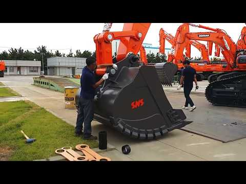 Excavator Bucket Assembly(DX520LC)
