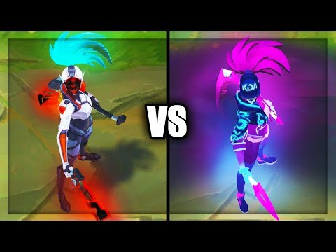 PROJECT: Akali vs KDA Akali Epic Skins Comparison (League of Legends)