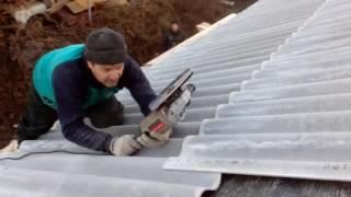 видео Как правильно крыть крышу шифером. Как правильно крыть. KakPravilno-Sdelat.ru