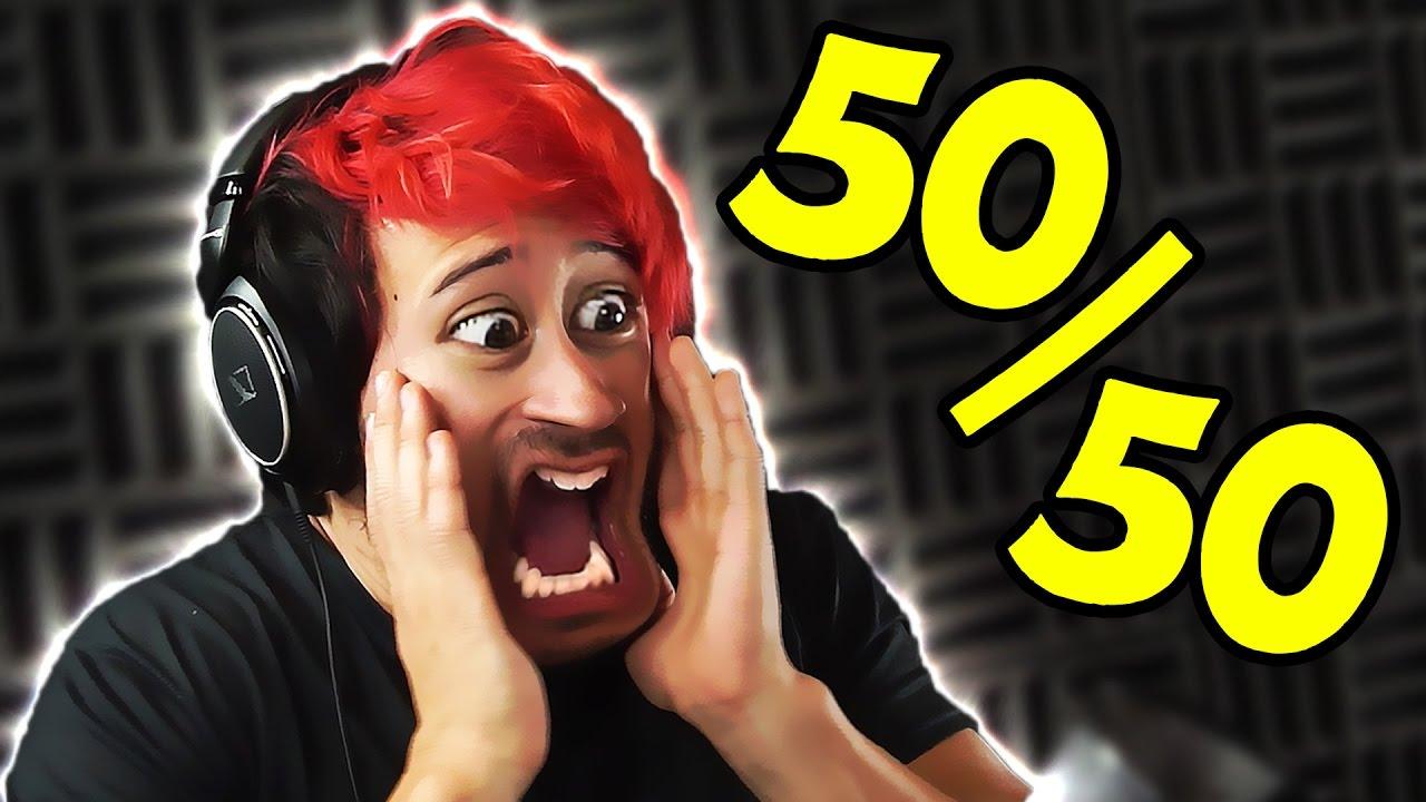 50/50 redit