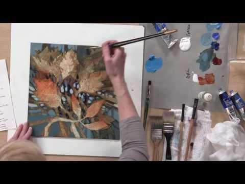 Preview   Linda Kemp's Negative Painting Techniques: Acrylic
