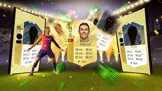 FIFA 18 ULTIMATE TEAM 500K FIFA POINTS PACK OPENING | 2 90+ ICONS AND 94 RONALDO