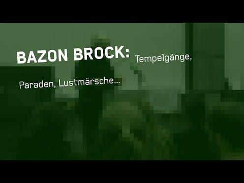"Bazon Brock: ""Tempelgänge, Paraden, Lustmärsche..."""