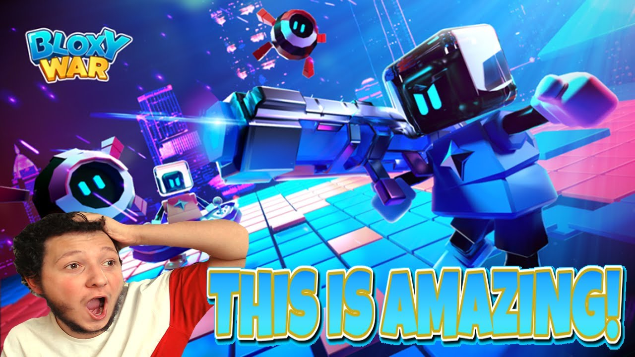 THIS IS EPIC!! NEW BLOXY WARS GAME!!😱