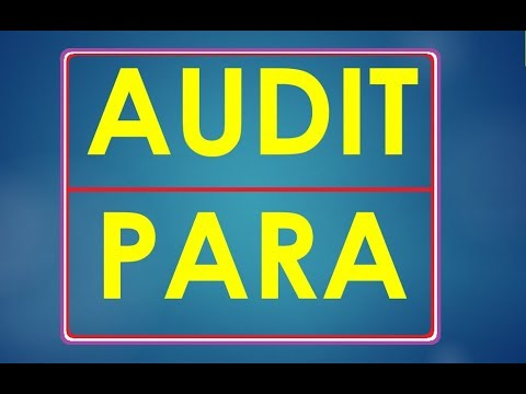 How to settle Audit Paras ?