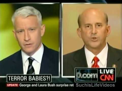 Rep. Louie Gohmert Goes Berserk On Anderson Cooper!!!