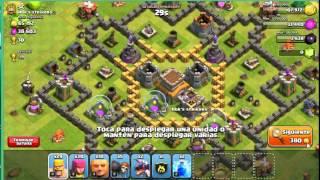 Vídeo 1 de DavidPF525 en Clash Of Clans (ataque pensado por Carlota)