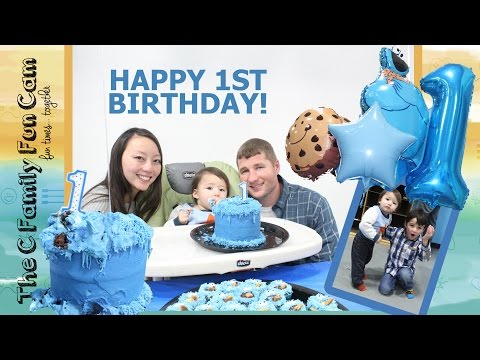 HAPPY 1ST BIRTHDAY PARTY! CELEBRATION!