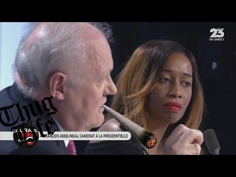 François Asselineau Met en PLS le Grand Oral des Grandes Gueules sur RMC (20/03/17)