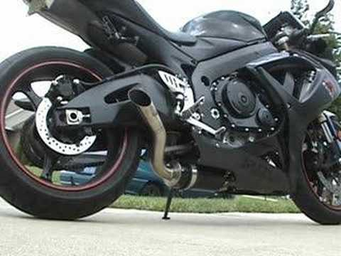 2007 gsxr 600 jardine youtube for Jardine exhaust