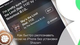 Как легко распознавать песни на iPhone без установки Shazam   Яблык