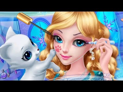 Fun Ice Princess Teen Sweet Sixteen Makeup Beauty Spa Dress Up Makeover Kids & Girls Games - 동영상