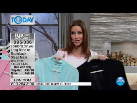 HSN | HSN Today: Comfortably You Loungewear Premiere 02.03.2017 - 08 AM
