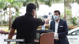 Entry Protocol at The Westin Kolkata | We Care