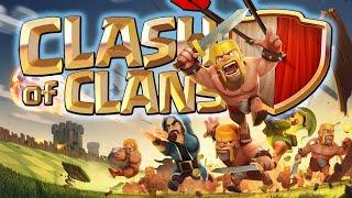 Clash of clans...продолжаем играть в ик...просмотр баз....можно и пиар