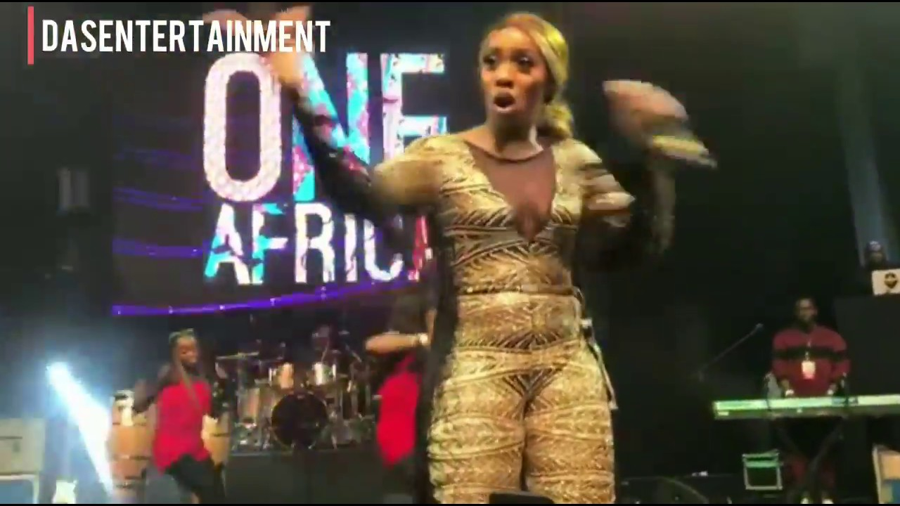 Download Wizkid and Tiwa Savage perform together at the ONE AFRICA MUSIC FEST IN DUBAI 2017