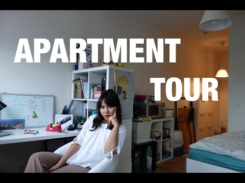 21 sqm Studio Apartment Tour di Hamburg (Jerman) I Quita bikin Vlog : Chapter #28