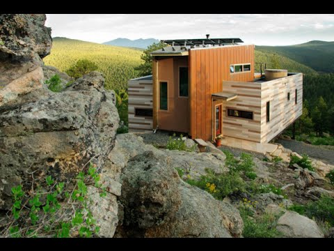 Amazing shipping container homes colorado shipping container home by studio h t youtube - Container homes usa ...
