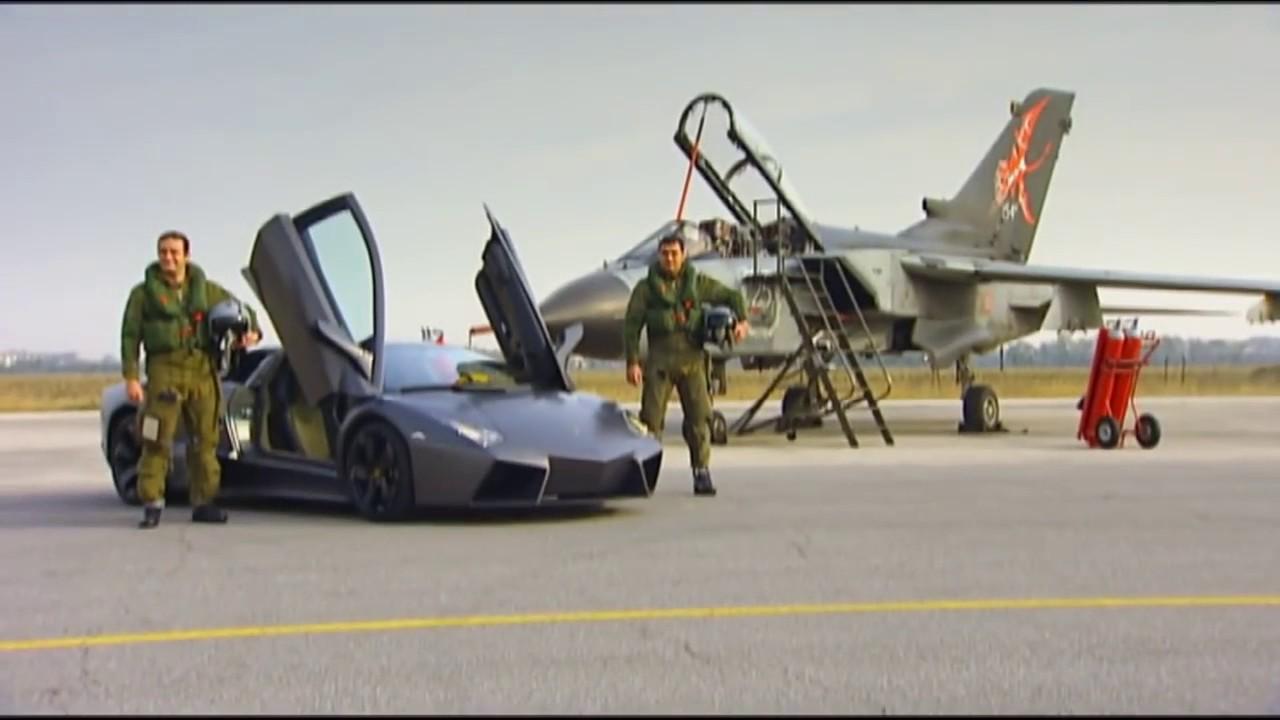Ultra Speed Race Lamborghini Reventon Vs Fighter Jet Youtube