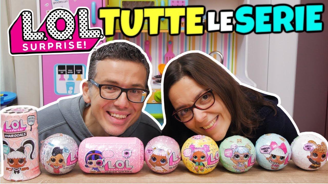 Lol Surprise Tutte Le Serie Unboxing Dalla 1 Alle Hairgoals Youtube