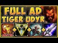 BREACHING THE GATES! FULL AD TIGER UDYR TOP IS 100% STUPID! UDYR TOP GAMEPLAY! - League of Legneds