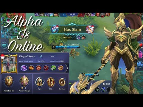 King of Rome RANKING 3 GLOBAL ALPHA GAMEPLAY