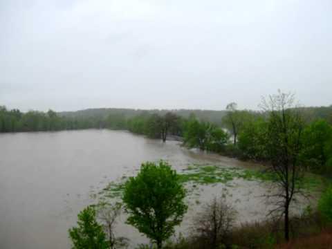 Shoal Creek flooding Granby,MO 04252011