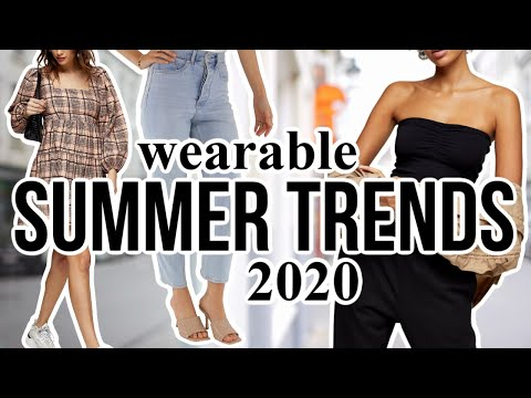 10 Summer FASHION TRENDS Worth Trying in 2020!