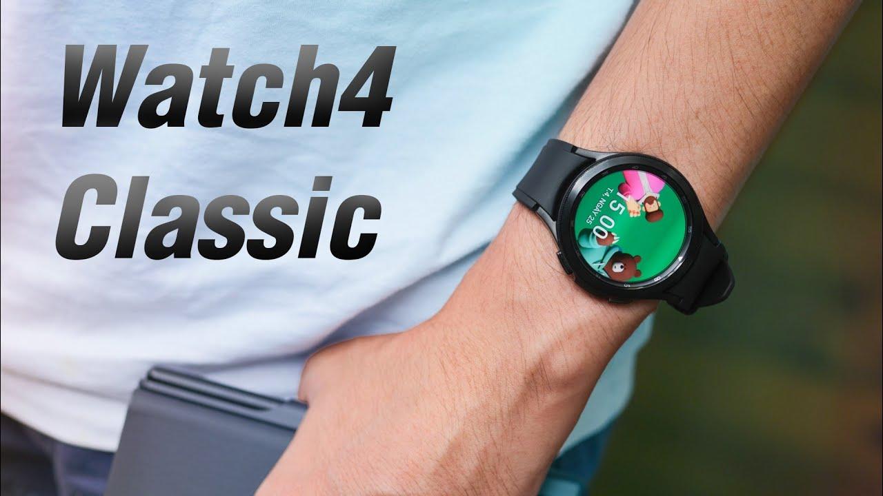 Trên tay Samsung Galaxy Watch4 Classic