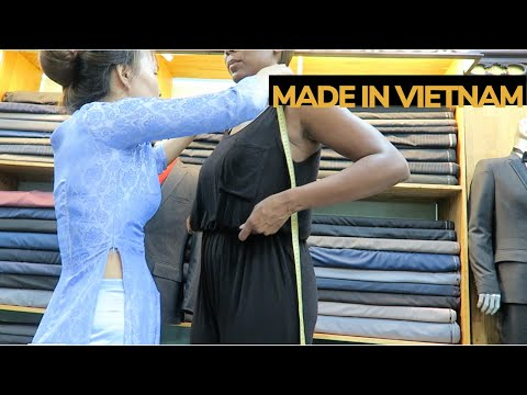 Shopping the markets, custom-made clothing in Hoi An in a cyclone | Vietnam Travel Part 2