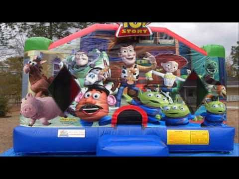 Toy Story Bounce House, Columbia SC - Inflatable Moonwalks