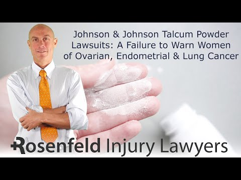 Talcum Powder Ovarian Cancer Lawsuits :: Why Didn't Johnson & Johnson Warn About Cancer Risks?