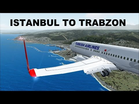 [FSX] FULL FLIGHT ISTANBUL (LTBA) TRABZON (LTCG) | TURKISH AIRLINES B737 | IVAO LIVESTREAM
